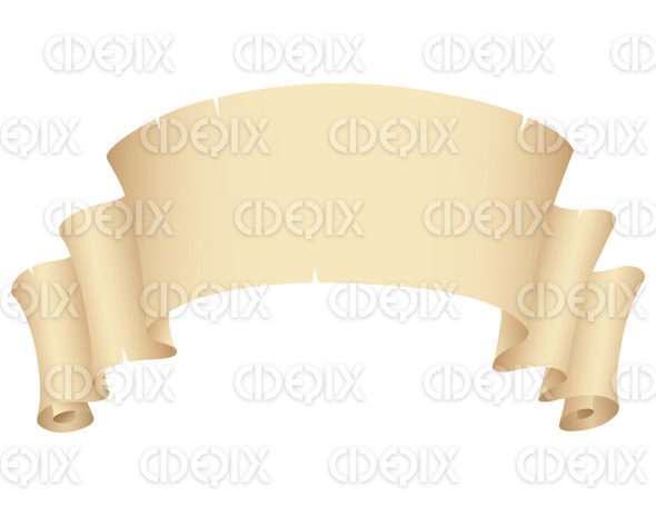 old beige grunge wavy banner stock illustration