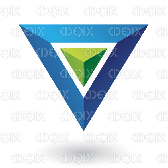 Blue Pyramid Logo Blue Pyramid Triangle Logo
