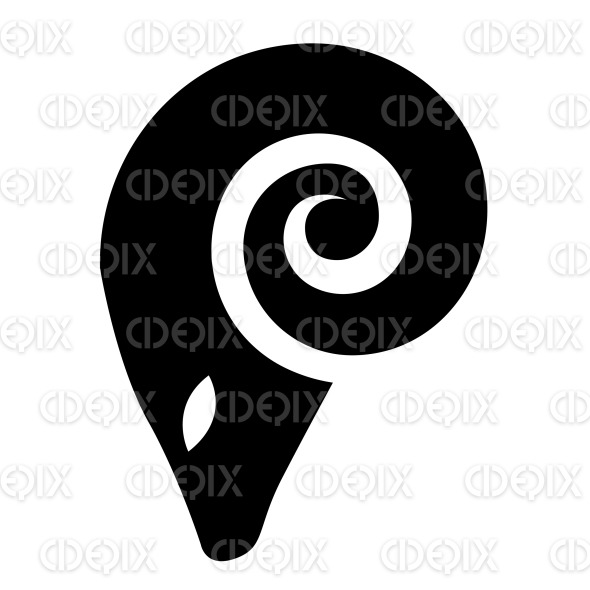 Black Silhouette Of A Cartoon Ram And Aries Icon Cidepix