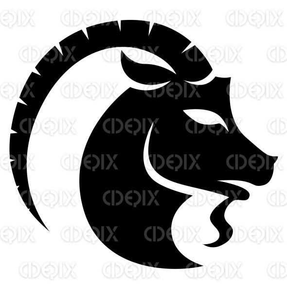 Black Capricorn Astrological Zodiac Star Sign And Horoscope Cidepix
