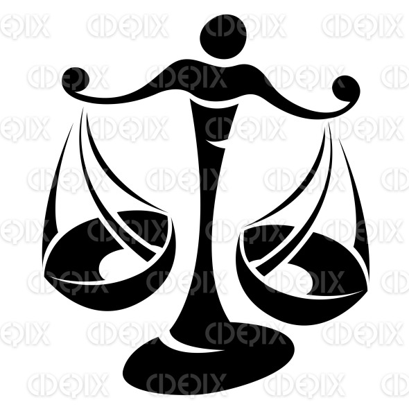 Black Libra Astrological Zodiac Star Sign And Horoscope Cidepix