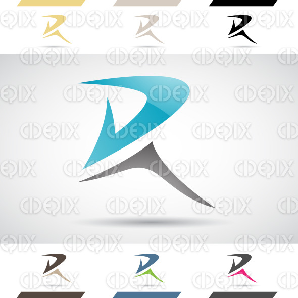 Logo Shapes and Icons of Letter R | Cidepix
