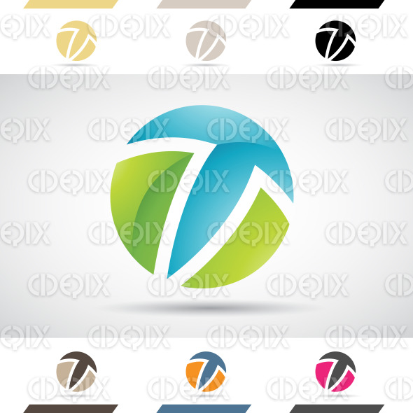 Logo Shapes And Icons Of Letter T Cidepix