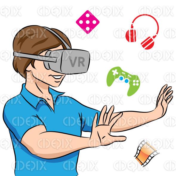 Što misliš da sada radi osoba iznad prikaži slikom 8549-guy-wearing-a-virtual-reality-headset